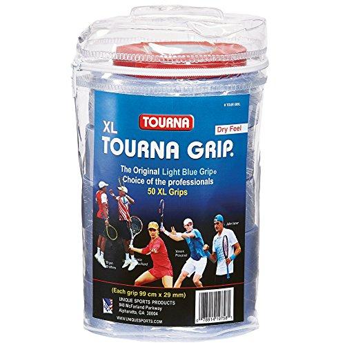 Maximale Trockene Haut-formel (Tourna Grip Griffbänder, Blister, uni, TG50XL, blau)