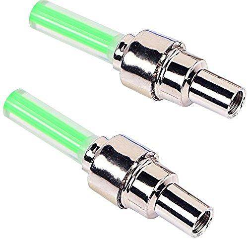 sungpunet grün hohe Qualität Reifen Ventil Cap Lampe Car Bike Motorrad Fahrrad Zubehör LED Flash Lampe