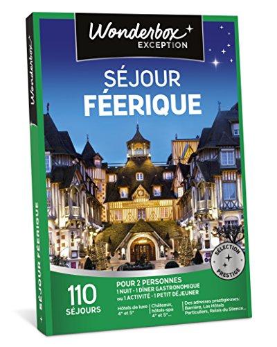 WONDERBOX - Coffret cadeau de noel couple - SÉJOUR FÉERIQUE - 100 séjours en...