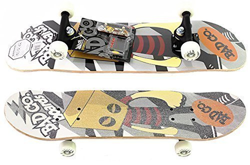 Skateboard mit Fingerboard Bad Co.