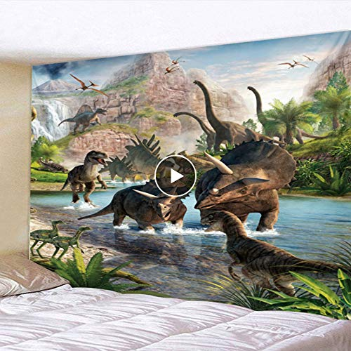Rjjdd Jurassic Century Dinosaur Play Polyester Fresh