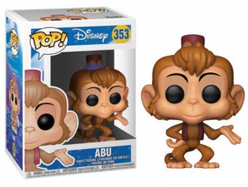FunKo 24923 Disney Aladdin Abu POP Vinylfigur, Multi, -