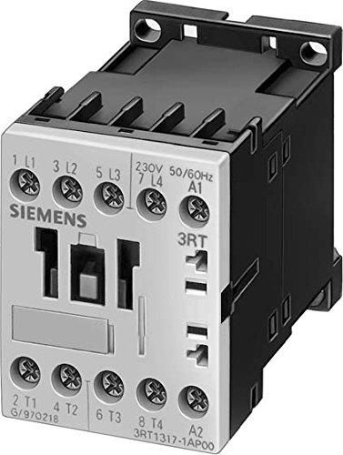 SIEMENS SIRIUS - CONTACTOR AC-3 4KW CORRIENTE ALTERNA 220-240V 60HZ 4 POLOS 4NA