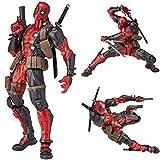 Action Figures Deadpool Avengers Personaggi D'azione Modello Doll Giocattoli Decorazioni per La Casa Statue Regali di Compleanno di Halloween - 16cm A