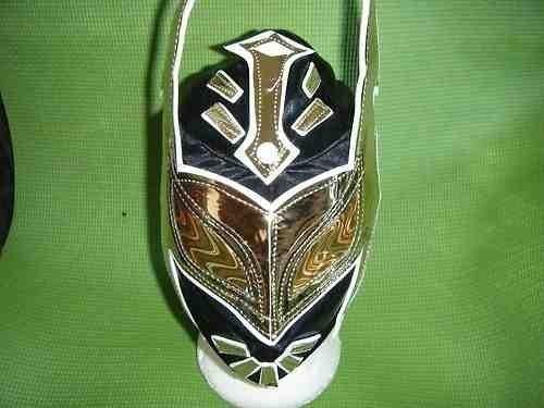 schwarz SIN CARA Hunico Ringer Maske Kostüm Kostüm Outfit passt für Kinder Evil Super Hero WWF WWE ECW Lucha Libre Lucha Dore mexikanisch (Wwe Sin Cara Kostüme)