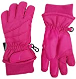 N'Ice Caps Kids Bulky Thinsulate and Waterproof Winter Ski Glove With Ridges