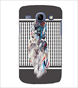 PrintDhaba Mysterious Girl D-2710 Back Case Cover for SAMSUNG GALAXY MEGA 5.8 (Multi-Coloured)