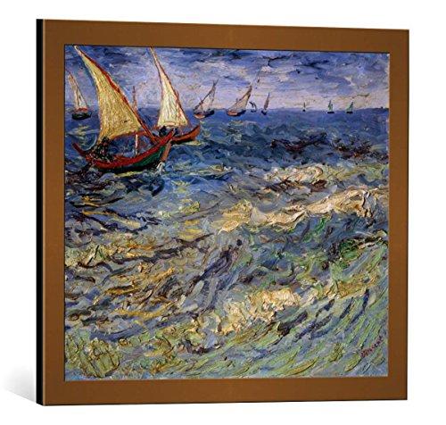 Gerahmte Van Kunstwerke Gogh (Bild mit Bilder-Rahmen: Vincent van Gogh