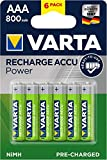 Best Batteries rechargeables - Varta Piles Rechargeable AAA x 6 800 mAh Review
