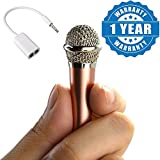 #10: Captcha Mini 3.5mm Wired Handheld Microphone Player Singing & Record & 3.5MM Audio Earphones Splitter Adapter 1 to 2 Connector Compatible with Xiaomi, Lenovo, Apple, Samsung, Sony, Oppo, Gionee, Vivo Smartphones (One Year Warranty)