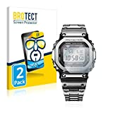2X BROTECT HD Clear Film de Protection d'écran pour Casio G-Shock GMW-B5000D-1ER...