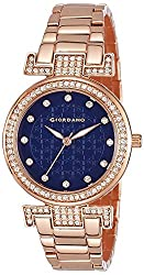 Giordano Analog Blue Dial Womens Watch-A2057-55