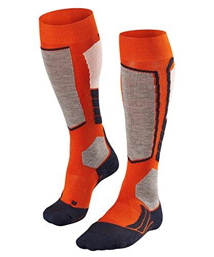 FALKE Calcetines para Esquiar para Hombre, 2 Unidades