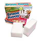 Oven Pride Erase away non chemical magic sponge (2 Packs = 4 Sponges) by OVEN PRIDE
