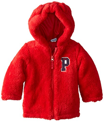 us-polo-association-baby-boys-baby-faux-fur-shell-jacket-with-hoodie-red-18-months