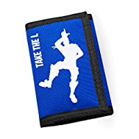 Apparel Printing Take The L Savor The W Emote Ripper Wallet Bright Royal