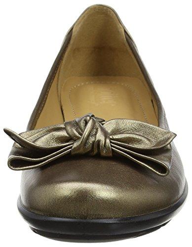 Hotter Damen Jewel Ballerina Brown (Chocolate Bronze)