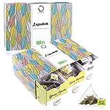 L'Essentielle BIO Tee Set ● Geschenk-Set ● Premium Teesortiment, 6 Geschmacksrichtungen ● 48 Beutel