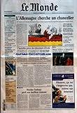 MONDE (LE) [No 18866] du 20/09/2005 - COREE DU NORD - ACCORD DE PRINCIPE DANS LA CRISE SUR LE NUCLEAIRE - LA...