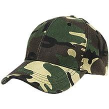 FakeFace para Mujer para Hombre Gorro de béisbol al Aire Libre Camuflaje  Camo Gorra de béisbol 60630df3a75