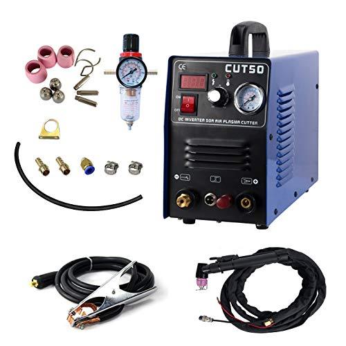 Pilot Arc Plasmaschneider CUT50P 50 A 220 V berührungsloser Digitaler Luftwechselrichter tragbare Schweißgeräte 12 mm Clean Cut