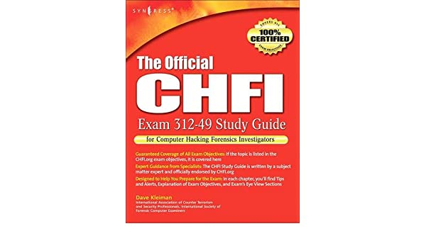 Buy The Official CHFI Study Guide (Exam 312-49): for Computer ...