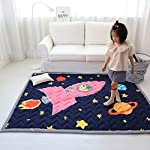 Ustide Kids Crawling Play Mat Soft Non Toxic Play Carpet for Living Room Nursery School