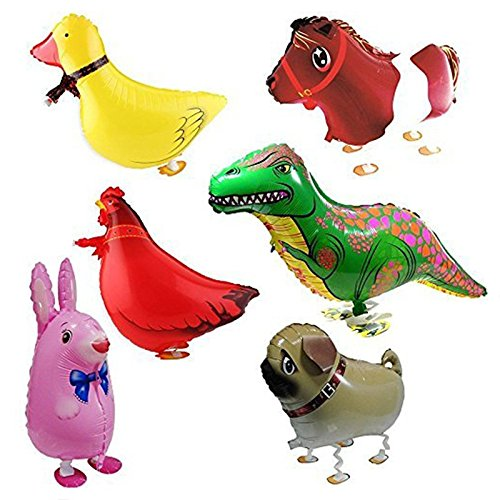 cs Kind Party Tier Ballon- inklusive Kaninchen, Dinosaurier, Pferd, Ente, Huhn, Pekinese (Ballon Tiere)