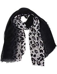 Yvelands Solde Femme L Hiver Couleur Mixte Imprimé LéOpard Style Frangé  ChâLe éCharpe Foulard e8b560bf1e0