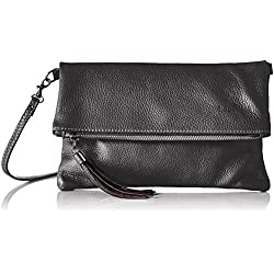 Bags4Less Damen Luna Clutch, Schwarz (Schwarz), 2x18x28 cm