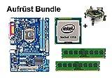 Aufrüst Bundle - Gigabyte B75M-D3V + Intel Core i7-3770K + 4GB RAM