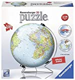 Ravensburger 12435 Globus in deutscher Sprache 3D-Puzzle