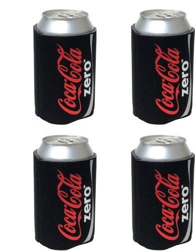 kolder-coke-zero-can-koosie-4-pack-black-by-kolder