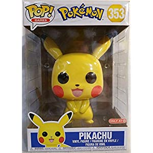 Funko Pop Pikachu 10″ (Pokemon 353) Funko Pop Pokemon