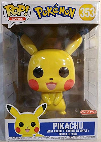 Funko Pokemon Pop Supersized 10-Inch Vinyl Figure - Pikachu