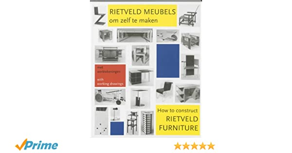 V Lab Meubels : How to construct rietveld furniture: amazon.co.uk: peter drijver