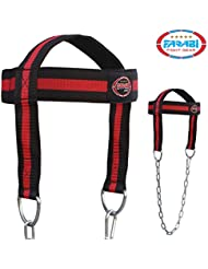 Farabi Sports - Arnés de cabeza con cadena para entrenamiento