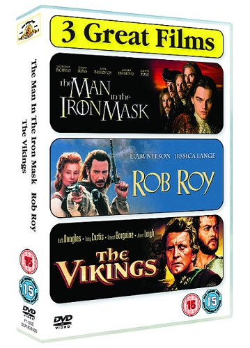 Image of The Man In The Iron Mask/Rob Roy/The Vikings [DVD]