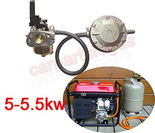 LoGas Umbaukit für 5–5,5KW tragbar Benzin Generator zu verwenden Propan LPG Gas