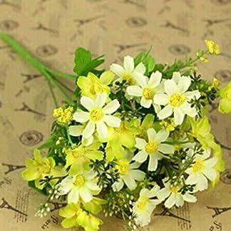 Zeagro – Ramo de Flores de crisantemo Artificiales, 1 Unidad