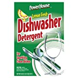 A USA Made Product PowerHouse® Dishwasher Detergent, Lemon Fresh, For Sparkling Clean Dishes