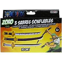 One Piece Zoro inflables 3 espadas