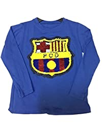 Camiseta Lentejuelas FC Barcelona Talla 14