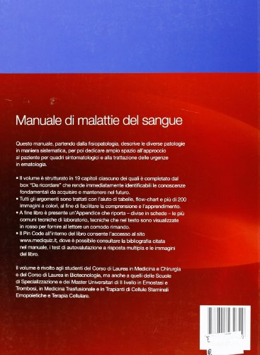 Zoom IMG-1 manuale di malattie del sangue
