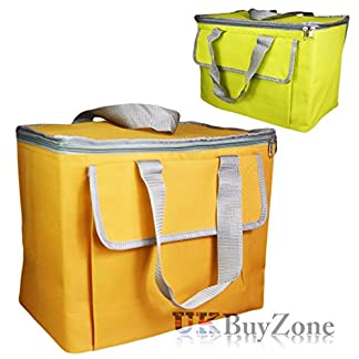 The Magic Toy Shop Large 30L Insulated Cool Bag Camping Picnic Cooler Box Travel Lunch Ice Food 10