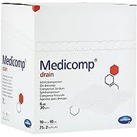 Medicomp Drain Kompressen 10x10 cm Steril, 25X2 St preisvergleich bei billige-tabletten.eu