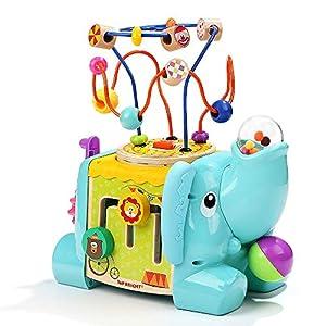 TOPBRIGHT- 5 IN 1 Cubo Elefante DE Actividades (TB120384)