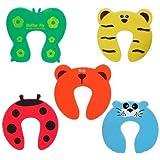 5 x Bloc porte / Stop coince doigts / pince-doigts, sécurité enfant / bébé