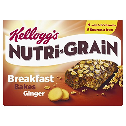 Kellogg's Nutri-Grain Breakfast Bakes Ginger, 270g Test