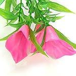 Suberde Artificial Water Grass Morning Glory Fish Tank Aquarium Plastic Ornament Plant 10